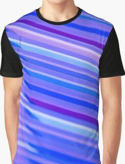 Purple Flow Graphic T-Shirt