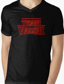 Team Valor Stranger Mens V-Neck T-Shirt