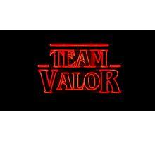 Team Valor Stranger Photographic Print