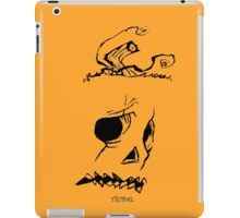 Pumpkinhead - Express Ya Face - Orange - Iphone iPad Case/Skin