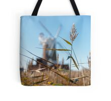 Wheat and Windmill Tote Bag