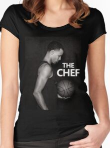 curry Women's Fitted Scoop T-Shirt