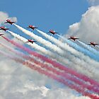 10 Arrow Big  Battle Formation - Farnborough 2014 by Colin J Williams Photography