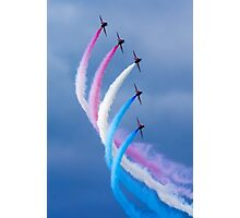 Red Arrows Turn Photographic Print