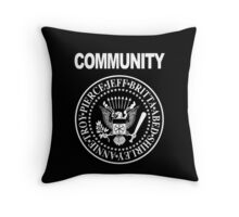 Community - Great Seal of the Study Group Throw Pillow