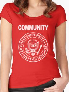 Community - Great Seal of the Study Group Women's Fitted Scoop T-Shirt