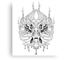 Wax-Fu Canvas Print