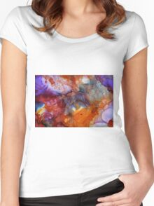 Abstract art 3 Women's Fitted Scoop T-Shirt