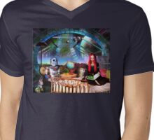 Story Hour with the Robots Mens V-Neck T-Shirt