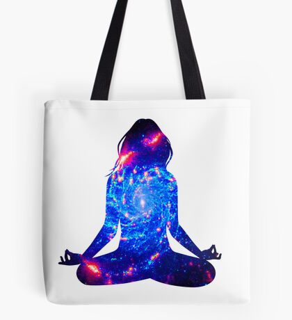 a mote of dust suspended in a sunbeam Tote Bag