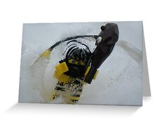Trapped in Ice Greeting Card