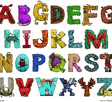 Alphabet Seven by jakeguttormsson