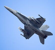 Super Hornet Flies by TomGreenPhotos