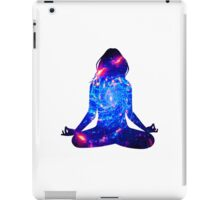 a mote of dust suspended in a sunbeam iPad Case/Skin