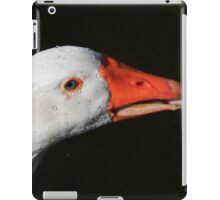 Goose portrait iPad Case/Skin