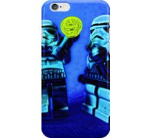 Raving stormtroopers by Tim Constable iPhone Case/Skin