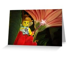 Fairy in the Flowers Greeting Card