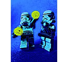 Raving stormtroopers by Tim Constable Photographic Print