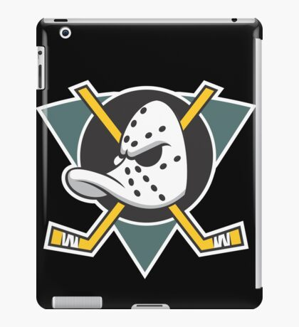 Mighty Ducks of Anaheim Movie NHL Hockey League iPad Case/Skin