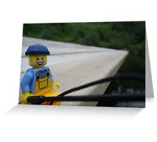 On the Dock Greeting Card