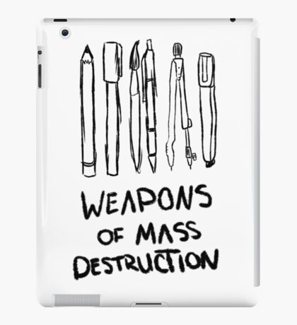 Weapons of Mass Destruction iPad Case/Skin