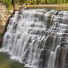 Middle Falls at Letchworth by Kenneth Keifer