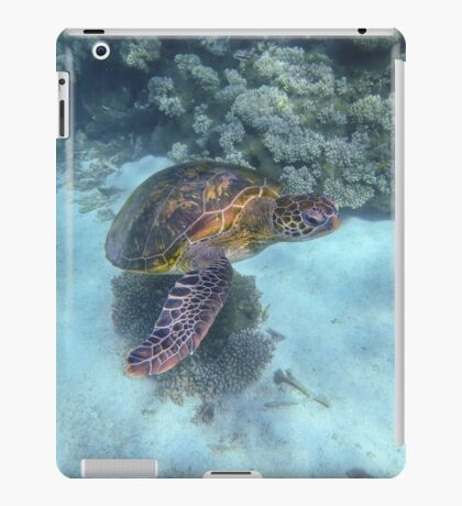 Turtle Awakens, Western Australia iPad Case/Skin