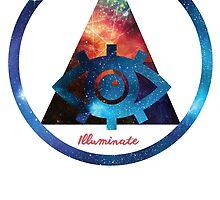 Illuminate Triangle by shanin666