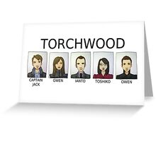 TORCHWOOD Greeting Card