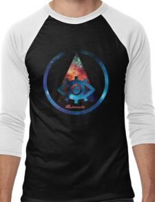 Illuminate Triangle Men's Baseball ¾ T-Shirt