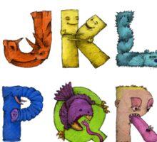 Alphabet Seven Sticker