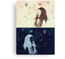 Bubblefly Princess Canvas Print