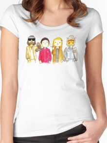 Royal Tenenbaum bought the house on Archer Avenue in the winter of his 35th year Women's Fitted Scoop T-Shirt