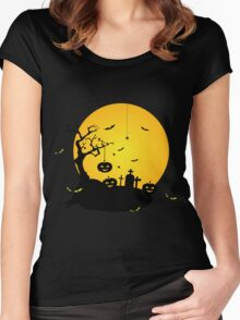 halloween Women's Fitted Scoop T-Shirt