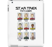 STAR TREK VOYAGER  iPad Case/Skin