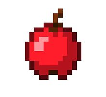 Minecraft Apple by Legitbit