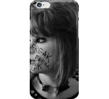 Freak. Self portrait  iPhone Case/Skin