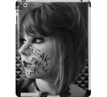 Freak. Self portrait  iPad Case/Skin