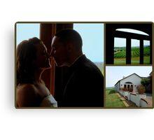 WEDDING TRIPTYCH  ^ Canvas Print