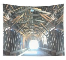 Covered Bridge Wall Tapestry