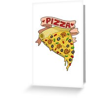 I love pizza Greeting Card