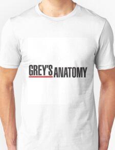 Greys Anatomy Logo Unisex T-Shirt