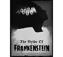 Bride of Frankenstein Poster Photographic Print