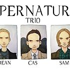 SUPERNATURAL TRIO by Bantambb