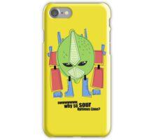 Optimus Lime. iPhone Case/Skin