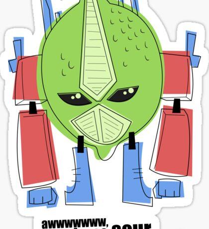 Optimus Lime. Sticker