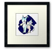 Baby Crystal Dragon Framed Print