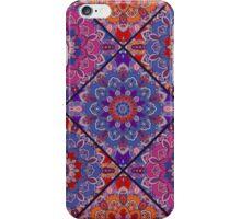 Square Boho Tiles from Flower Mandala iPhone Case/Skin