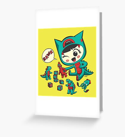 Tiny Monster Greeting Card