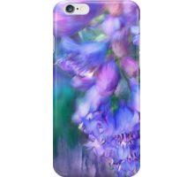 Delphinium Abstract iPhone Case/Skin